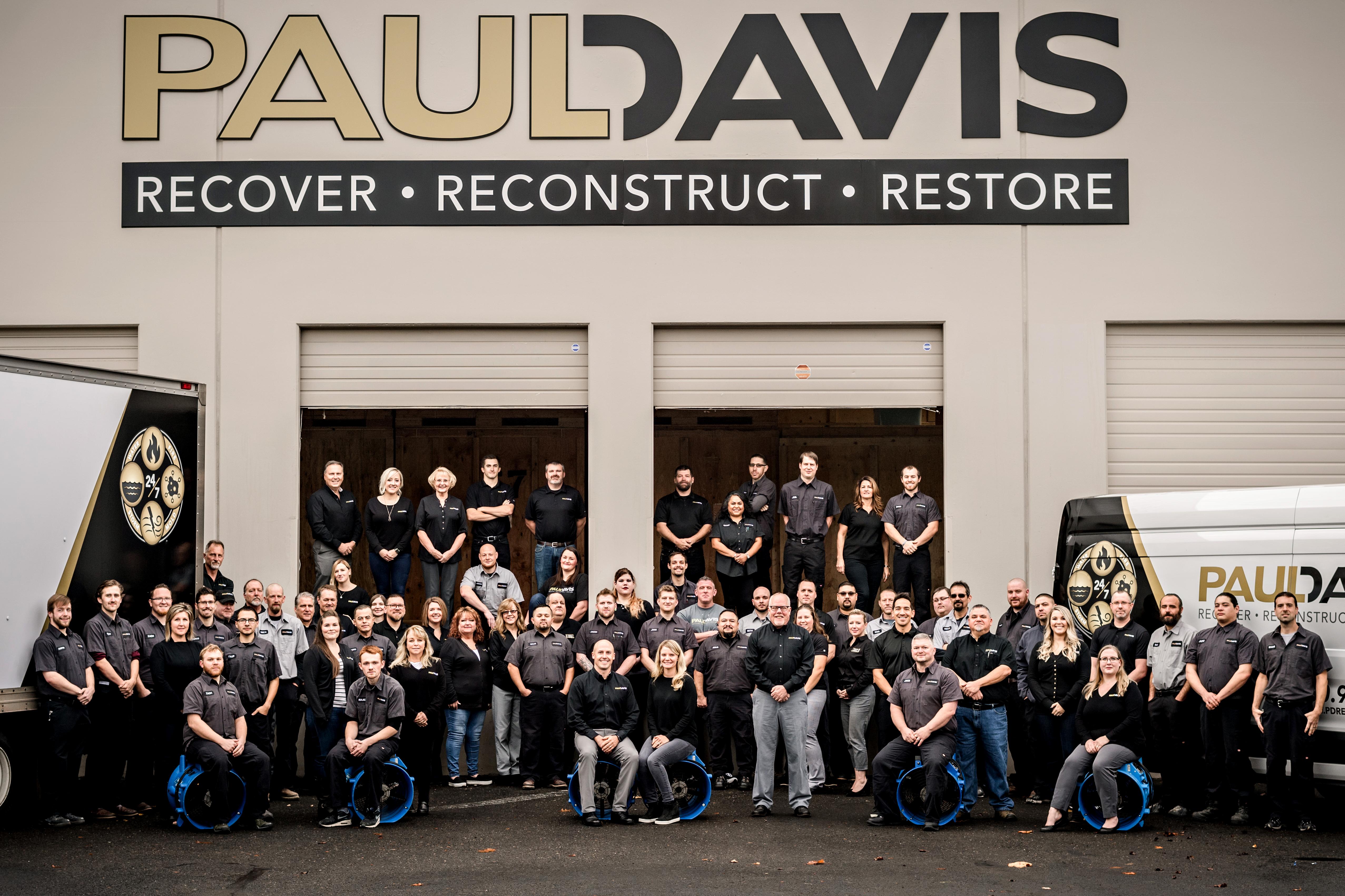 Paul Davis Team Photo
